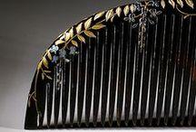 Comb / Peigne / Hair dress / #japan #china #artnouveau #Lalique #comb #kushi / by Julie Huguenin