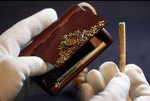 Fabergé cigarette case / by Julie Huguenin