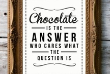 CHOCOLATE --YUM / by Deidre Simon