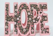 HOPE Breast Cancer Awareness Cards / by Angela Maine