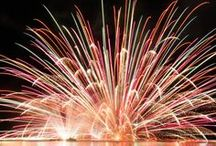 Celebrating with Fireworks / Fireworks are beautiful for the young and older.. / by Linda Blair