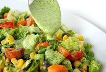 Salads&dressings / by Haydee Sierrasuarez