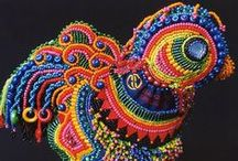 Beads, bead embroidery / All about beads / by MizzMay