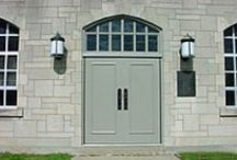 Unique Door Frames & Borrowed Lites / Steel door frames in all different elevations from gothic arch to segmented window walls / by Karpen Steel Custom Doors & Frames