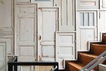 Recycling Old Doors / by Karpen Steel Custom Doors & Frames
