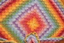 Blankets, Afghans Throws, Lapghans etc / by Diane Fryer