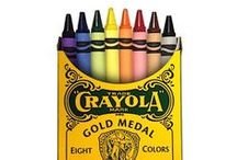 Our Colorful History / The Crayola brand has been around since 1903 and a lot has changed over the years. Check out the pins on this board to take a walk down memory lane! / by Crayola