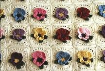 Mis favoritos granny square / Diversos tejidos realizado en Crochet y Dos Agujas  / by Lisrosan Sanchez