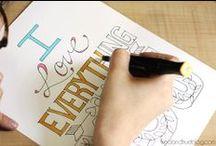 Printables and Fonts / Anne Berger tarafından