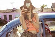 Vintage Cameras / by Vicki Dvorak