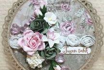 Bloemen kaart / Alle bloemen / by Rita Kranen