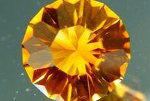 Untreated Citrines / by Wild Fish Gems