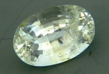 Untreated Sapphires: Colorless, yellow, green  / by Wild Fish Gems