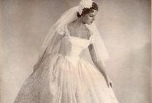 Wedding Dresses---Yesterday and Today / by Pam Soukup