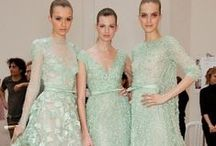 'Dye-to-Order' colours: Sea Green / Our dye-to-order dresses come in 10 style, 13 colours and 5 sizes / by Ghost London