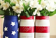Red, White & Blue! / Celebrating our Independence  / by Lori Wichert