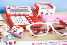 Back-to-School Time!  / Head back to school with Hello Kitty! Get ideas for brilliant backpacks and supercute school essentials. / by Hello Kitty