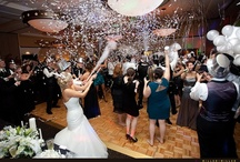 New Year's Eve Wedding / Weddings and New Year's Eve are fun celebrations on their own, but together they are the ultimate party. Gather your friends and throw a NYE wedding they'll never forget!  / by RD I Do