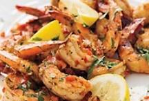 Seafood Dishes / by Judy Heinig