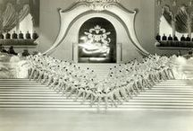 Ziegfeld Follies...(1907 – 1931) / With elaborate set designs, glamorised images of American women, and African – American talent, Florenz Ziegfeld Jr., made the Ziegfeld Follies one of the world's most spectacular annual entertainment productions during the first half of the 1900s. The leading man behind the camera was the renowned photographer Alfred Cheney Johnston, (1884 – 1971). Hollywood made a number of attempts to capture the splendor of the Ziegfeld Follies on film..... / by Emma Stevens