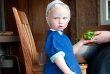 Amish Life / The Amish are Godly and God Fearing.  They're hard working, generous simple people.   / by M. Myers