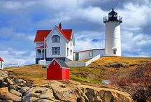 Seashore~New England / Find yourself at the beach... / by Jean Cassidy