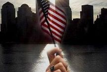 9/11 memorial / never forget  / by luisa hand