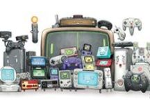Bleeps and Bloops / Video game art: because it was crowding my general art board. / by Vincent Bondy