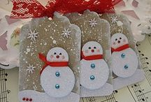 GIFT TAGS / Handmade tags / by Gillian Wallace