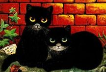 Black cats are cool! / by Jean George