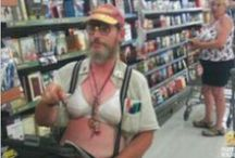 Meanwhile at Walmart... / by Mary Poe