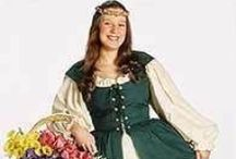 Renstore.com Women's Costumes / Lady's Garb, garments, apparel, costumes, clothing, clothes, Wenches, girl's, female. Renaissance and Medieval, Middle Ages, Viking, Anglo-Saxon, Norman, Celtic, Tudor, Elizabethan, Shakespeare, BoHo,  / by Renstore.com