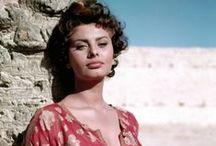 Actress: Sophia Loren / Italian perfection / by Ronald Laloli