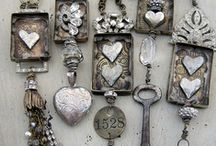 Let's Make Some Jewelry / I love creating jewelry out of things I happen to stumble upon.  / by Hollyhock Gallery