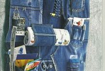 Recycled Jeans / by Maria Niagolova