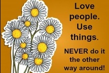 """LOVE!  / Quotes and inspiration on the theme of love ... not just finding the """"love"""" of your life, but learning to love yourself more and experience love more  each and every day.  / by Believe and Create"""