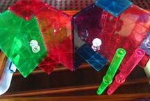 Reggio Inspired Block Play / Reggio inspired blocks, building, and construction play.  , #Reggio Inspired, #ReggioInspired #magnatiles #magna tiles  *collaborators may pin from your own blog or others blogs* / by Kristen (Caution! Twins at Play)