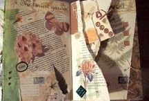 Altered Book Project Ideas / Ideas for a single page altered book craft  / by Dana Walker