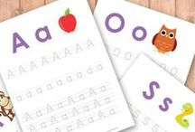 Alphabet Printables / A-z Alphabet/Letter printables and do-a-dots / by Kristen (Caution! Twins at Play)