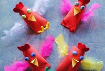 CRAFTS: EASTER / Crafts for Easter. Paasknutsels / by Marian Weishaupt