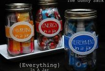 Mason Jar gifts / gifts in a jar. / by Lisa Seliger-Stack