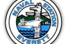 Naval Station Everett / by FRG of the USS Rodney M Davis