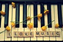 ♪ ♫  Music   ♪ ♫ / by Ruth Carter-Bourdon