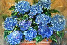 Min blå dag -My blue day / by Lena Sjoberg