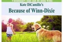 Because of Winn-Dixie (Ch6-9) / Vocabulary Cards for Because of Winn-Dixie (Chapters 6-9) / by Amy Hawkins
