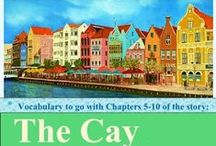 """The Cay (Chaps 5-10) Vocabulary / Vocabulary for Chapters 5-10 of """"The Cay"""" / by Amy Hawkins"""