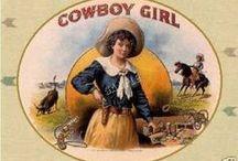Cowgirls / by Carolyn Lage