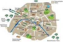 FLE: Ville et directions / Les quartiers, les monuments, les plans et cartes, trouver son chemin / by La Frencherie - Mme Devine