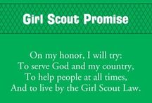 Girl Scouts / Ideas for daisies, brownies, juniors, and so on / by Sara Dion