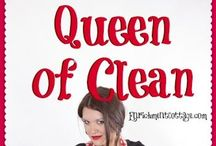 CLEAN everything / by Princess's Mom